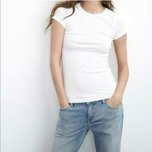 Tops - White Baby Doll Tee Shirt